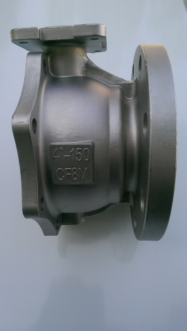 2PC-flange ball valve