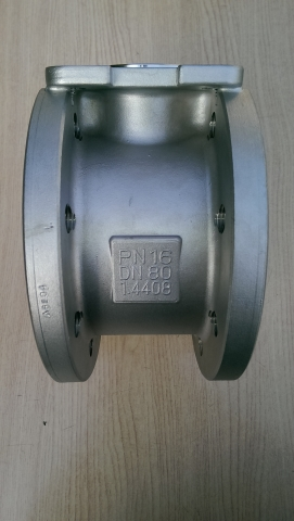 PC-flange ball valve
