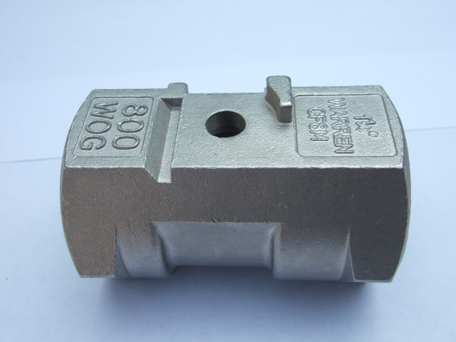PC-ball valve body