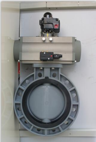 Pneumatic Actuator Ball  Valve with Positioner